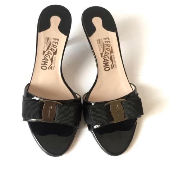 33d3aa45dc Salvatore Ferragamo Glory Slide On Patent Leather.  M_5aeeb8946bf5a6b40fac65e9